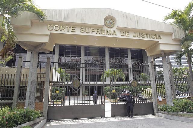 JUDICIALES. Vista de la fachada de la de la Corte Suprema de Justicia de El Salvador, ubicada en San Salvador. | Efe/Roberto Escobar