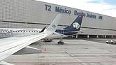 ADVERTENCIA. Los edificios terminales del Aeropuerto Internacional de la Ciudad de México están en adecuadas condiciones de seguridad y operabilidad, pero de no ser atendidos los temas reportados pueden generarse problemas de seguridad estructural.