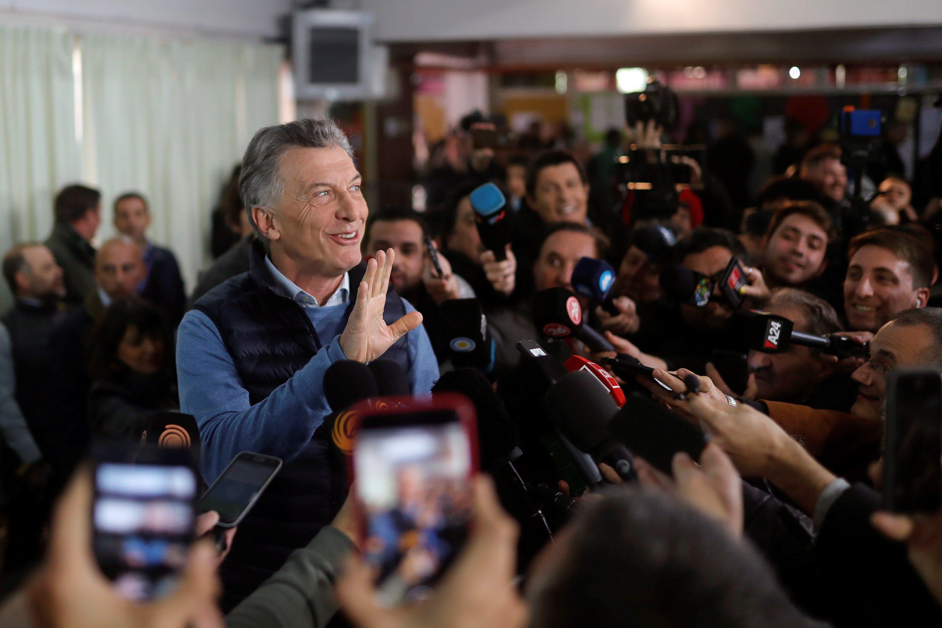 CAMBIO. El presidente Mauricio Macri se enfrenta con un gran desafío: lograr un triunfo en las próximas elecciones.   Efe/Juan Ignacio Roncoroni.