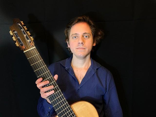 Ricardo Borsatto Faria, guitarrista de 7 cuerdas
