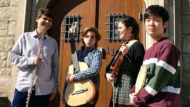 Fernando Brandão, Ricardo Borsatto, Julia Bonfim y Kan Yanabe