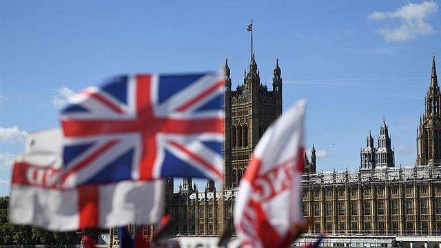 MUNDO. Vista general de las Cámaras del Parlamento en Westminster, Londres, Gran Bretaña, 29 de agosto de 2019