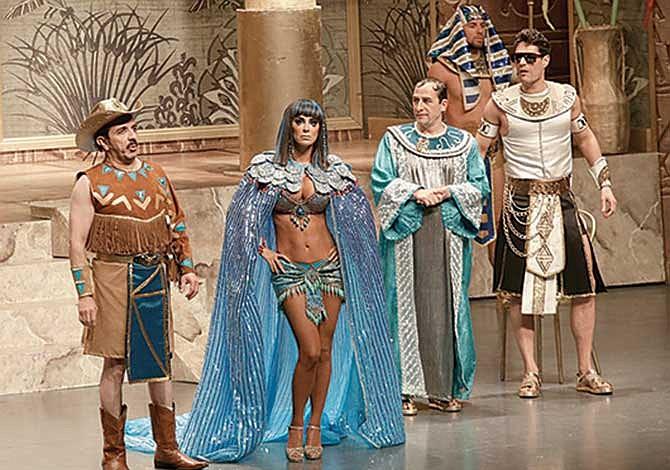 Hilarante comedia en The Aztec