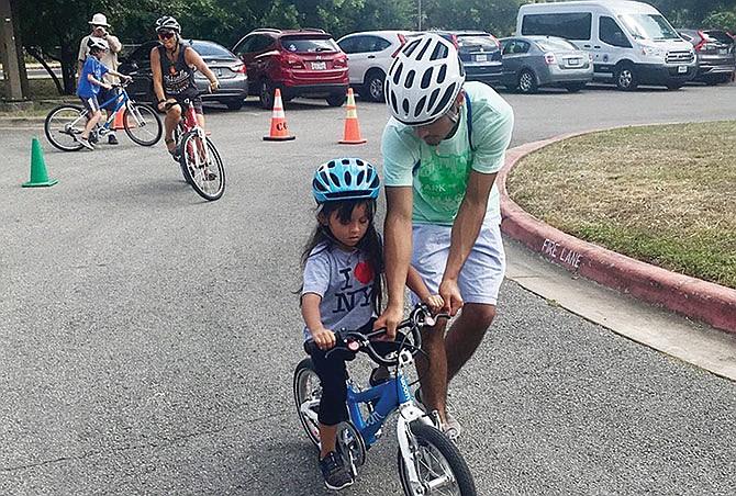 Aprendiendo a pedalear