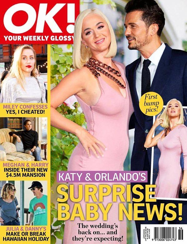 SHOW. Katy Perry y Orlando Bloom podrían estar a la espera de su primer hijo