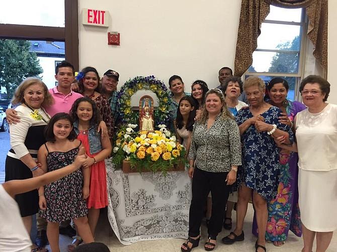 Celebración en honor a la Virgen de Coromoto, patrona de Nueva Inglaterra, en Boston, MA