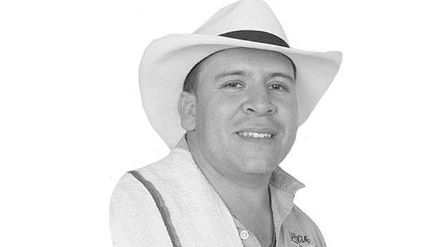SUCESO. Orley García, candidato colombiano a la Alcaldía de Toledo, fue asesinado el sábado. | Foto: Cortesía