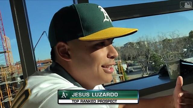 Jesús Luzardo / Captura MLB Network