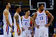 APLAUDIDOS. Jugadores de República Dominicana recibieron elogios por su actuación / EFE