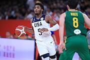 MANEJO. Donovan Mitchell es una de las principales piezas jóvenes de la NBA / EFE