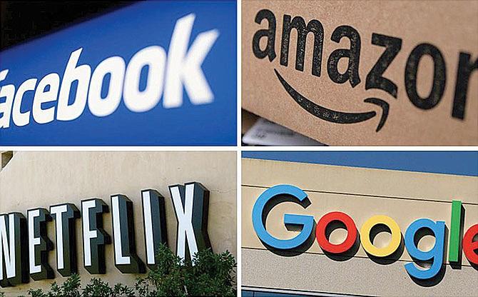 Guerra contra las gigantes tecnológicas