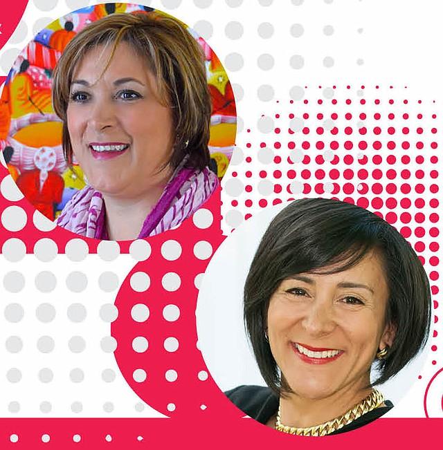 LÍDERES. La doctora Claudia Campos (izq.) y Ángela Franco (der.), son las líderes latinas que promueven este encuentro nacional.