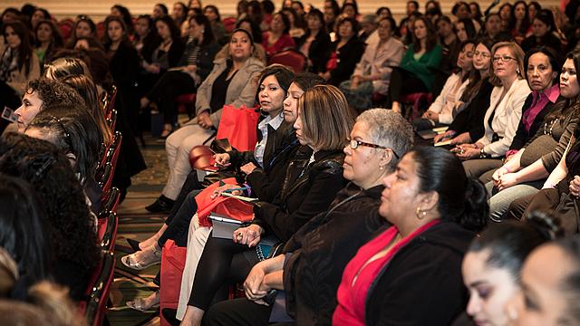 MUJERES. Las ediciones pasadas del Encuentro de Mujeres de Latinas USA ha contado con buena asistencia y apoyo de la comunidad.
