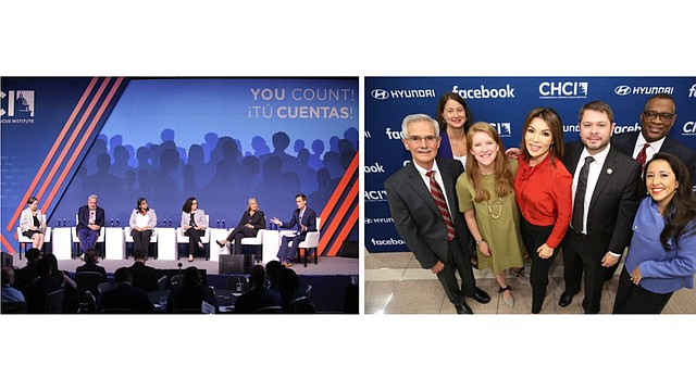 LIDERAZGO. La conferencia sirvió para recordar a los latinos que deben trabajar para promover el liderazgo.