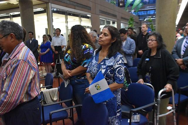 INVITADOS. Más de 200 invitados acudieron a celebrar la independencia de Guatemala.