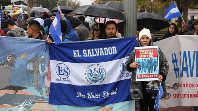 EL SALVADOR. Los salvadoreños con TPS han realizado masivas reuniones en Washington y otras ciudades para darle visibilidad a su situación