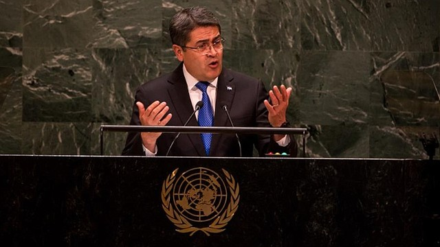 AMÉRICA. Juan Orlando Hernández, presidente de Honduras / EFE