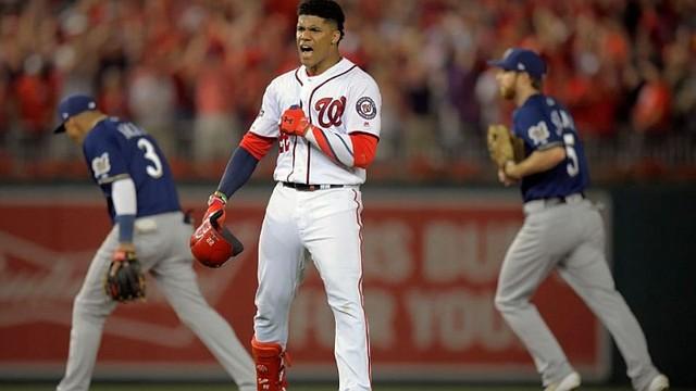MLB. Juan Soto, figura de los Nacionales de Washington / John McDonnell-The Washington Post