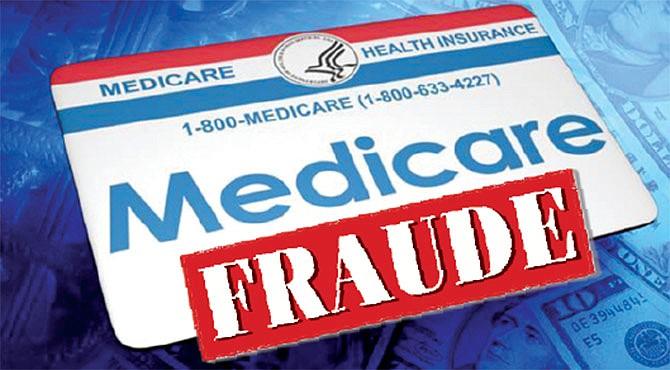 Multimillonario fraude contra Medicare