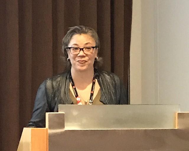 Makeeba McCreary, directora de Aprendizaje y Compromiso Comunitario del MFA