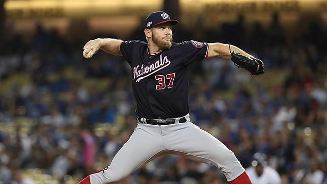 Stephen Strasburg amarró a los Dodgers en la Serie Divisional, como antes a los Cerveceros, en el duelo de los comodines / EFE