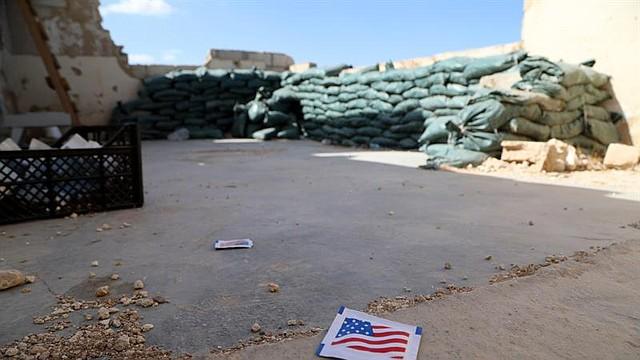 El presidente Donald Trump ordenó a sus tropas retirarse del área de ataque anunciada por Erdogan. En la imagen, del 7 de octubre, se muestra la base abandonada de Tal Arqam. | Foto: Efe.