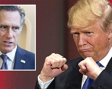 CUESTIÓN DE HIGIENE. Los legisladores Republicanos se enfrentan a un dilema de difícil solución: ¿Hasta qué punto deben permanecer leales a Donald Trump? Solo Mitt Romney se ha manifestado categóricamente. Los demás tienen miedo de enfrentar al presidente.