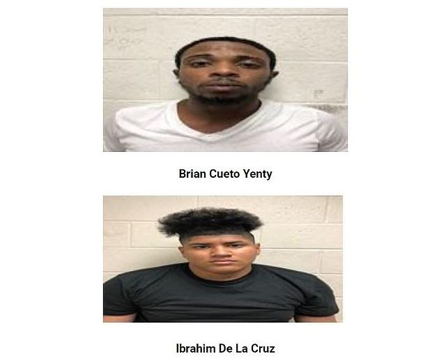 Imagen de los sospechosos difundida por la Policía del condado de Prince George's.