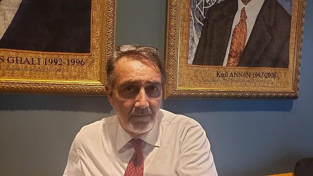 VENEZUELA. Francesco Rocca, presidente de la Federación Internacional de Sociedades de la Cruz Roja y de la Media / Maibort Petit