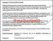 VENEZUELA. Primera propuesta de Crystallex / Cortesía Maibort Petit