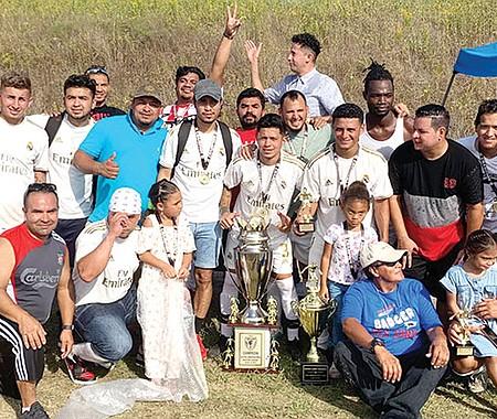 Río Verde, campeón de la Libertadores.