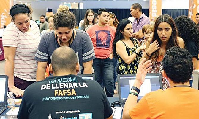 Ayuda para llenar  la solicitud de FAFSA
