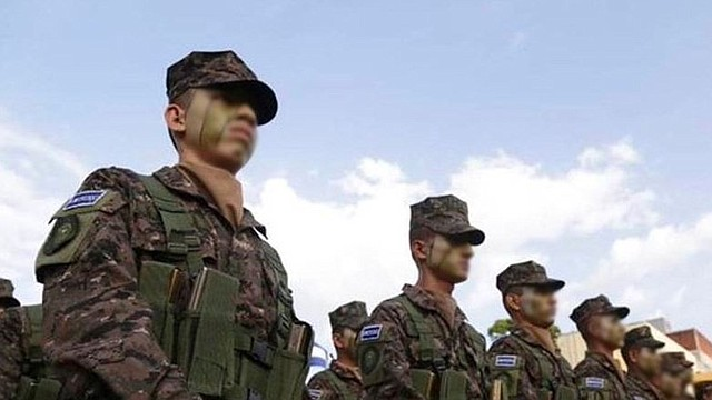 EL SALVADOR. Fuerza Armada de El Salvador (FAES) / Crédito: Twitter @FUERZARMADASV