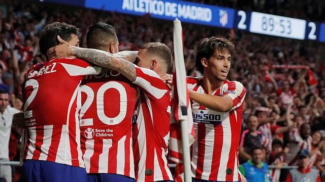 REGULARIDAD. El Atlético de Madrid lucha año a año por el título de liga / EFE