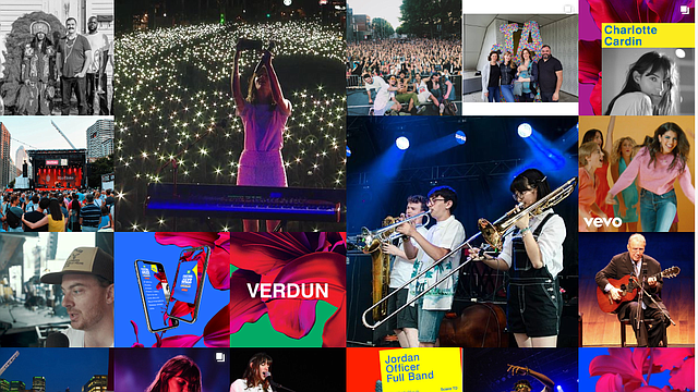 Un collage con algunos de los momentos que se vivieron en la edición 2019 del Festival Internacional de Jazz de Montreal.
