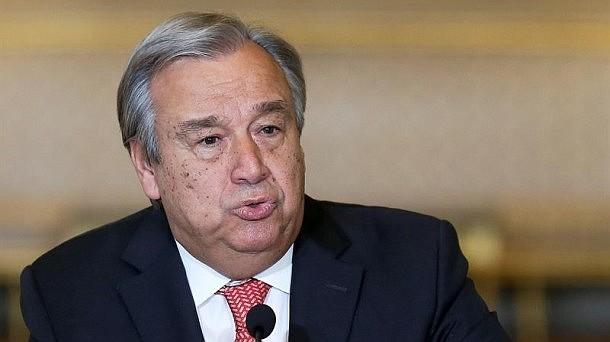 PRONUNCIAMIENTO. Guterres, manifestó su preocupación sobre las recientes ola de protestas que se han generado a escala mundial, entre las cuales citó las ocurridas en Europa, Asia, América Latina y África