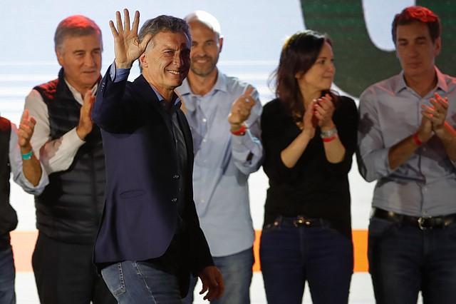 POLÍTICA. Mauricio Macri reconoció su derrota en los comicios generales.   Foto: Efe/Juan Ignacio Roncoroni