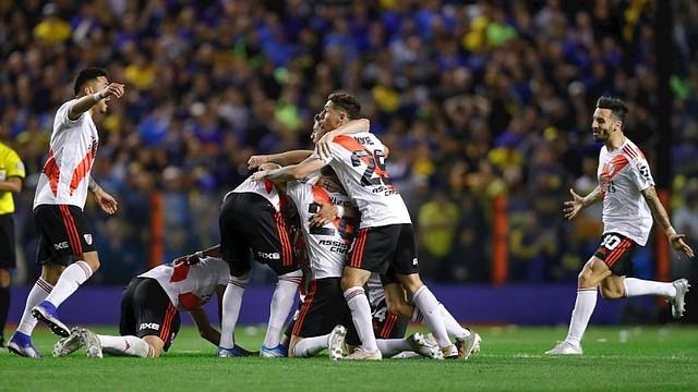 DOMINANTES. Para River Plate será su tercera final en cinco años / EFE