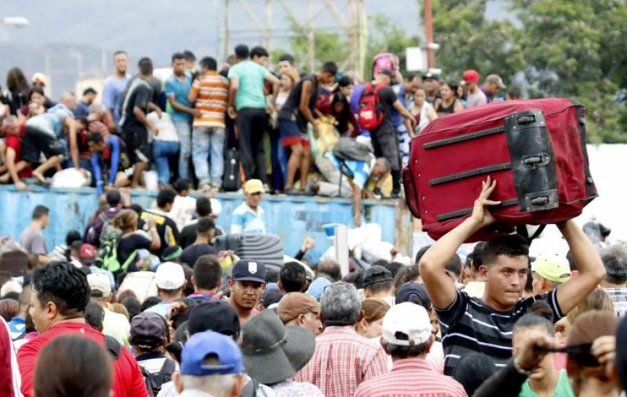 CRISIS. Unos 15 mil 450 venezolanos viven en el departamento y todos están alertados ante el conocimiento de esta situación delicada. Para ellos es muestra de la xenofobia en la región.