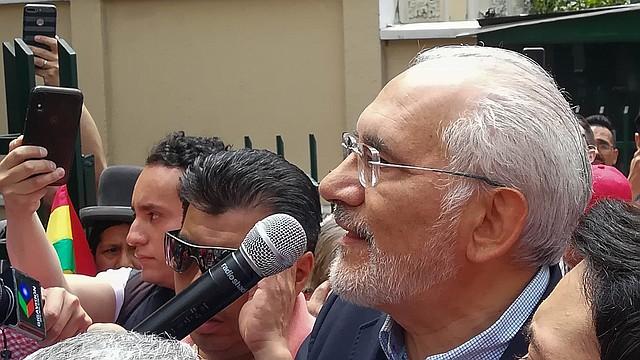 CRISIS. Mesa desestimó que Morales convoque a sus seguidores a La Paz para enfrentarse con quienes están en la calle exigiendo el fin del Gobierno.