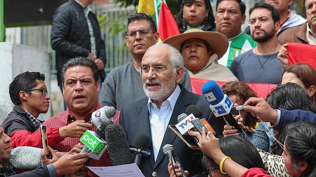 DESCONOCIMIENTO. Tras conocerse el resultado de la auditoría de la OEA, Mesa consideró que se debe iniciar un proceso penal en contra de los responsables del fraude porque lo establece el Código Penal de Bolivia.