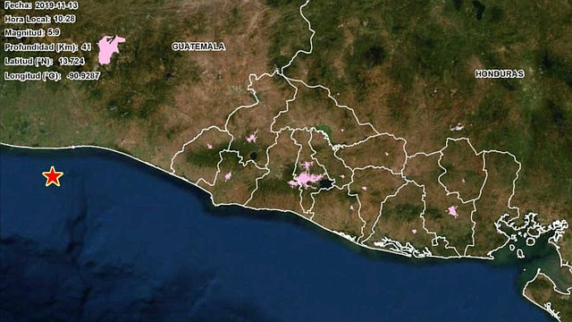 SISMOS. Desde el martes se han registrado varios sismos en El Salvador, tanto en la capital como en localidades más alejadas. | Foto: elsalvador.com.