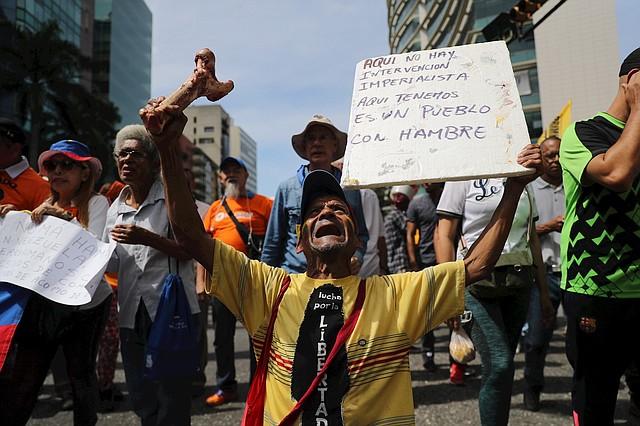 CRISIS. El régimen de Maduro mantiene a Venezuela con una escasez de alimentos, medicinas e insumos médicos sin precedentes. | Foto: Efe/Miguel Gutiérrez.
