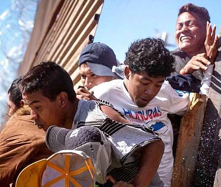 ESTADÍSTICA. Las solicitudes de asilo de extranjeros de El Salvador, Guatemala y Honduras representan más de la mitad de los casos de asilo pendientes.