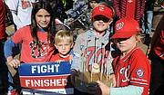 NUEVAS GENERACIONES. Los niños de Washington disfrutan del desfile en DC / José Luis Argueta