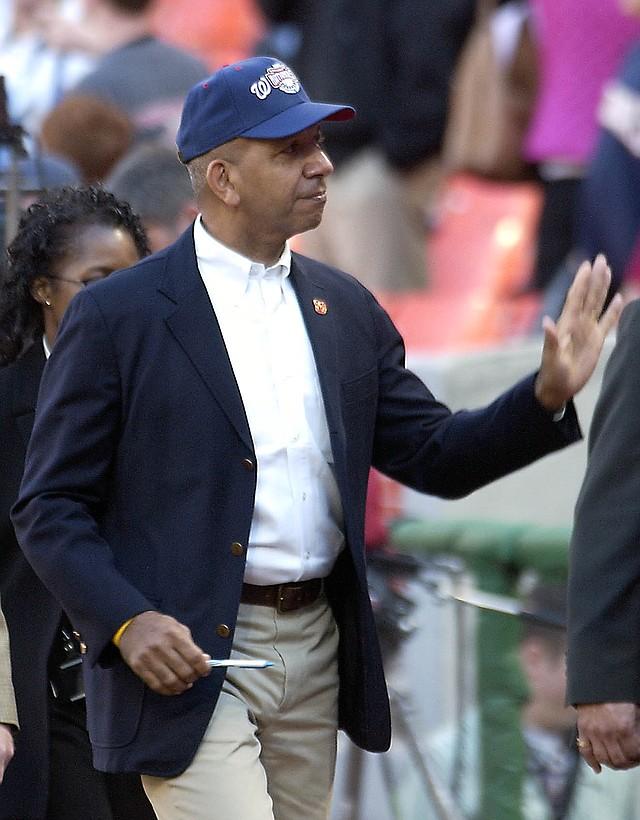 ALCALDE DE DC. Anthony A. Williams,  ex alcalde y artífice de la llegada de los Nacionales a Washington. | Foto: JOSÉ LUIS ARGUETA PARA ETL