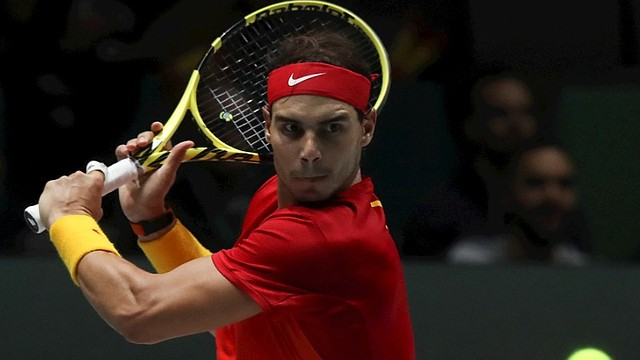 FIGURA. Rafael Nadal, número uno del mundo, ve acción en la cita / EFE