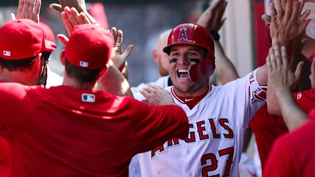 RECONOCIDO. Mike Trout sumó su tercer MVP / @angels