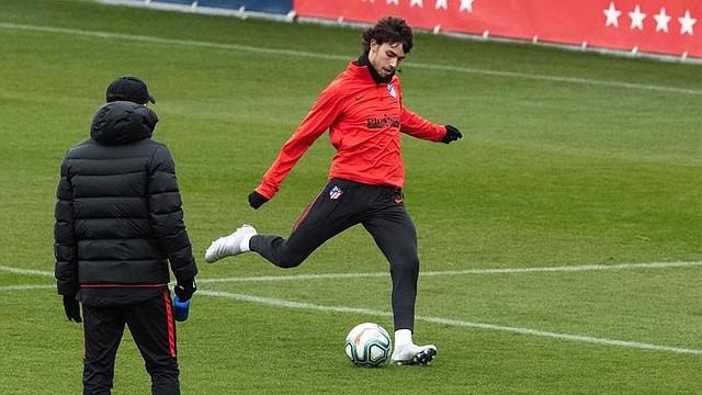 FÚTBOL. El portugués pertenece al Atlético de Madrid / EFE