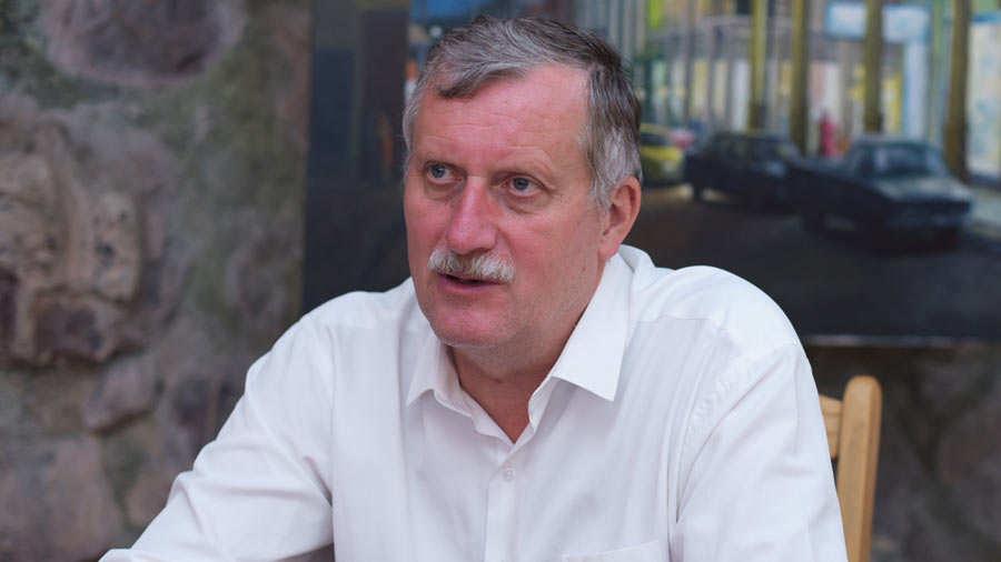EL SALVADOR. Zdeněk Kubánek, embajador de República Checa, habló sobre su interés por fortalecer los lazos de amistad y comerciales entre El Salvador y su país